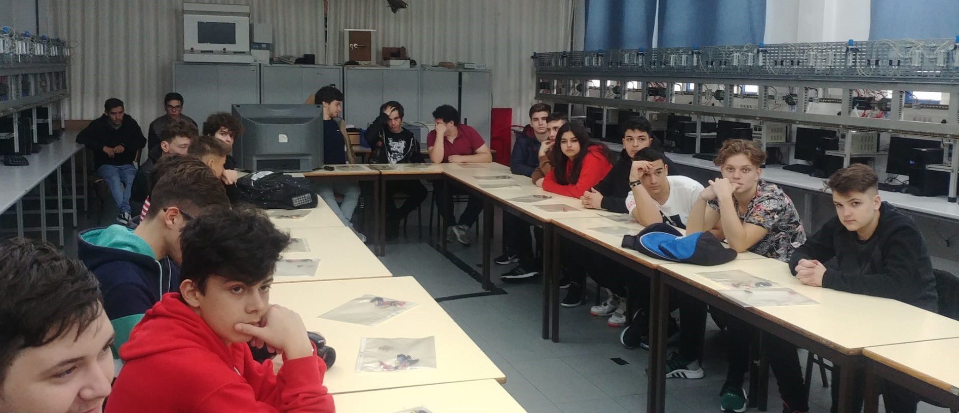 CIOR acolhe grupo de estudantes estagiários da Roménia