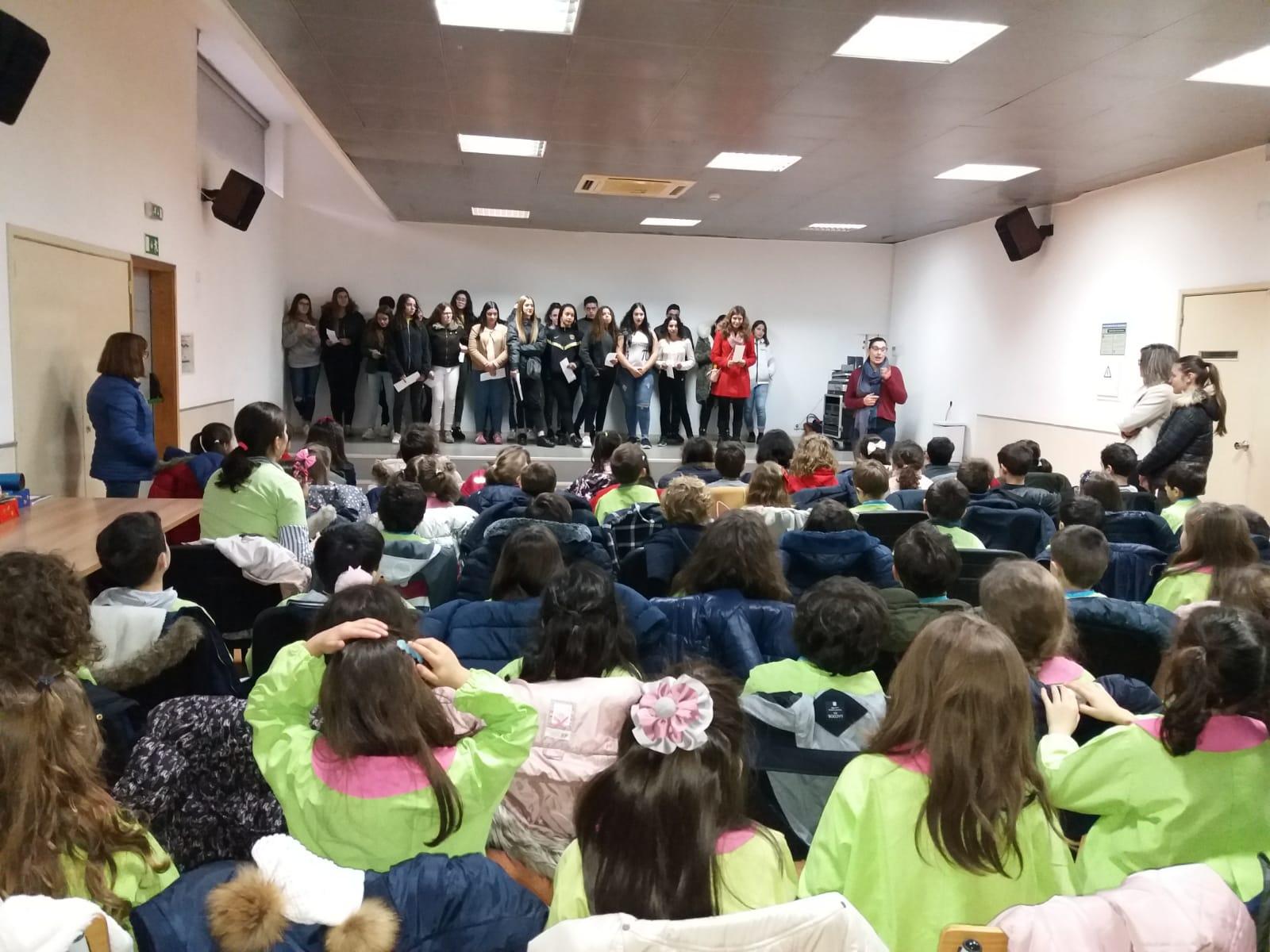 Alunos da CIOR encerram janeiro com festa para as crianças