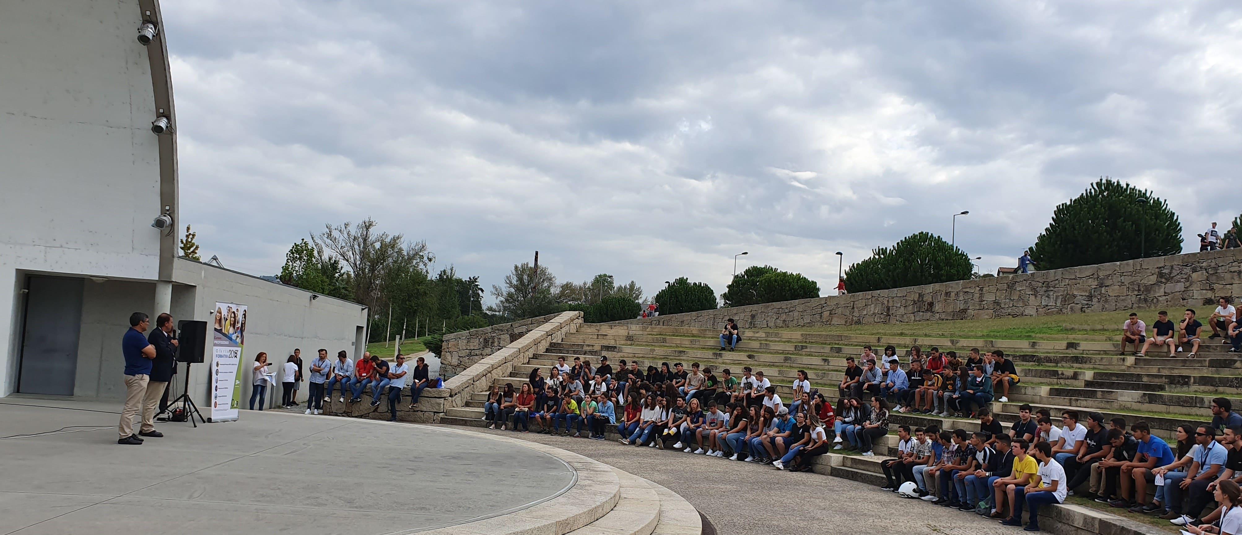 CIOR acolhe alunos no Parque da Devesa
