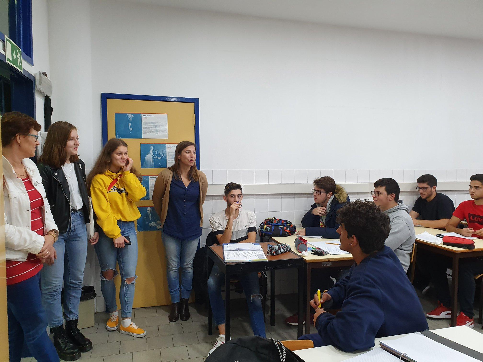CIOR recebe delegação de Escola Finlandesa