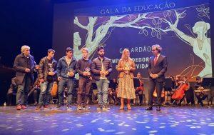 CIOR reconhecida na Gala da Educação