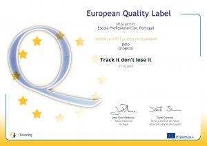 CIOR reconhecida com Selo Europeu de Qualidade